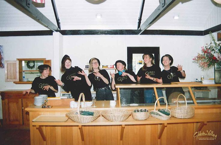#Throwback post from the '90s. Check out what our Cellar Door staff used to wear. #gibbstonvalley