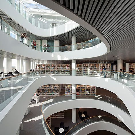 Library /Aberdeen Univerity #biblioteque
