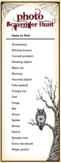 halloween party games for children and adults - Free Halloween Activities For Kids