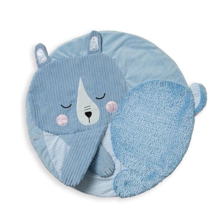 Tapis douillet Ours Manhattan Toy pour enfant dès la naissance - Oxybul éveil et jeux