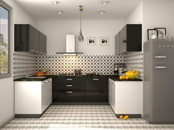Fabio U Shaped Modular Kitchen Designs Latest Kitchen Designs