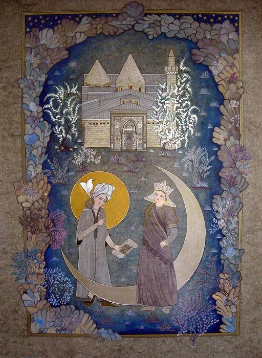 Turan Melek ve Ahmet Şah ve Divriği Şifahanesi | Sivas | Collections | Fine Islamic Arts | Şermin Ciddi