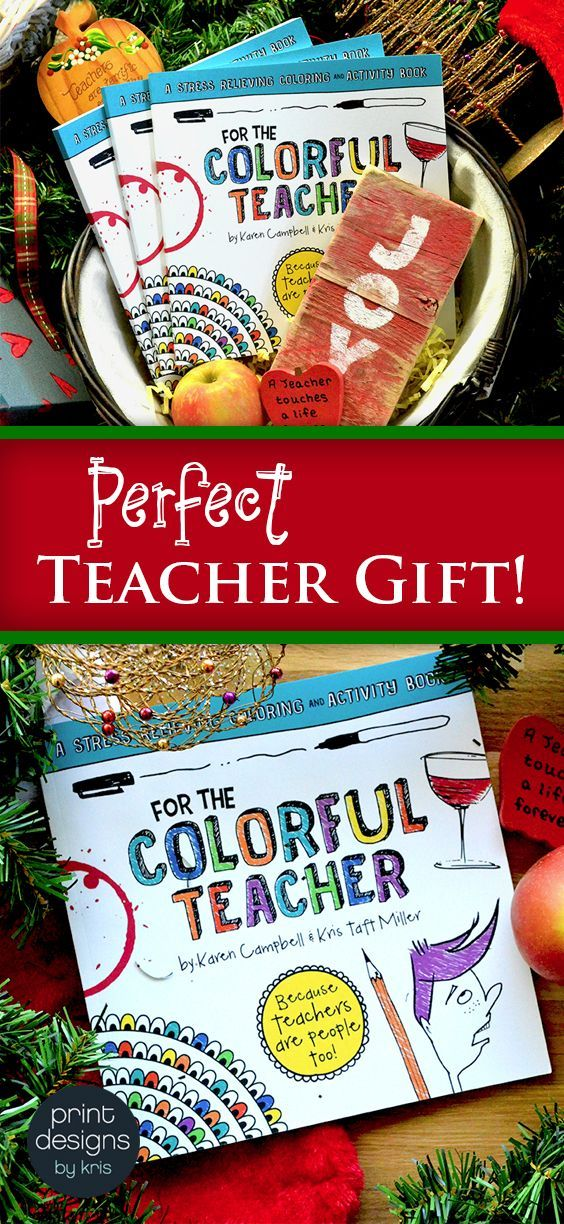 Featuring humor only a teacher can appreciate and activities to help them get their minds off of a hectic day, this is a gift that will stand out from all of the others they'll be receiving this season. Grab one (or five) while you can and knock a few people off of your holiday shopping list!