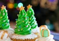 Christmas tree cupcakes - Bing Images