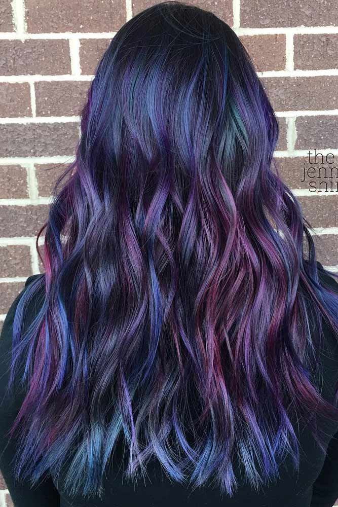 50 Fabulous Rainbow Hair Shade Concepts