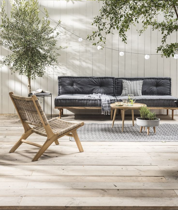 Loungeset met palletkussens | Lounge set pallet cushions | KARWEI 3-2018