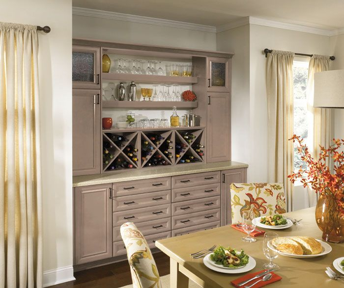 Imagine Dining Room Cabinets That Pull Double Duty As A