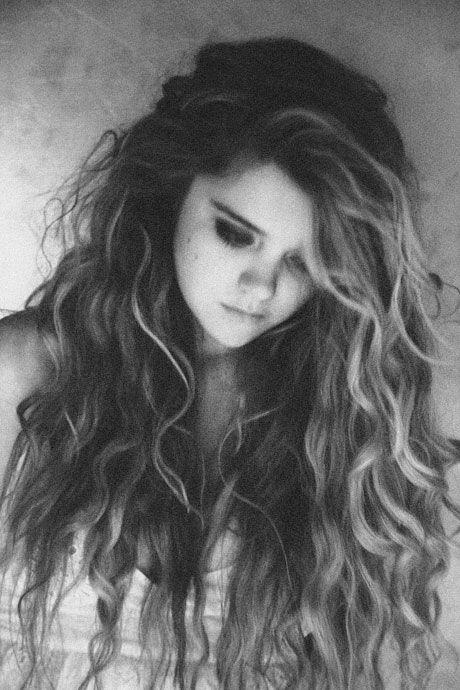 : Hairstyles, Messy Hair, Hair Styles, Long Hair, Hair Makeup, Curls, Beauty, Curly Hair