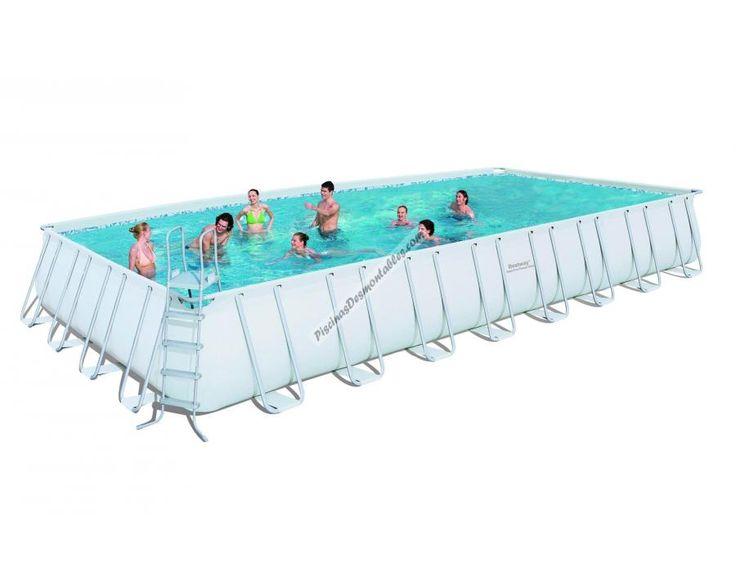 ¡Hola amigos os queremos presentar una de las piscinas desmontables de PVC más grandes del mercado. La marca Bestway nos ofrece una piscina de más de 9 metros de longitud. ¡Descubre nuestras promociones! ¡Muy económicas! http://www.piscinasdesmontables.com/piscinas-de-plastico-piscinas-bestway-rectangular-frame/piscina-bestway-rectangular-frame-956x488x132-12724.html