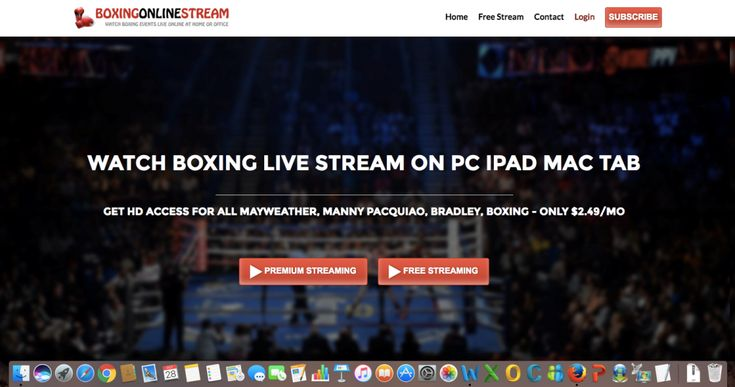 Watch Boxing Live Online from The Boxingonlinestream.com