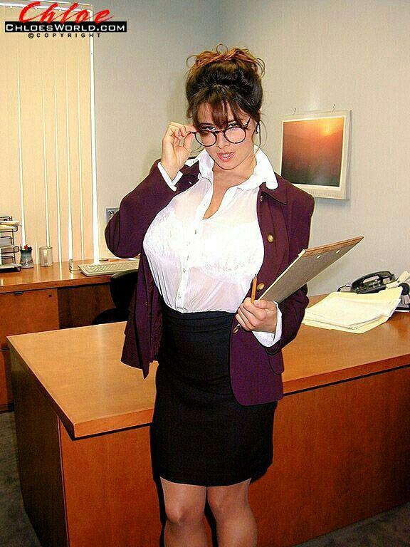 Chloe V | Sexy Secretary | Sexy, Chloe, Womens glasses