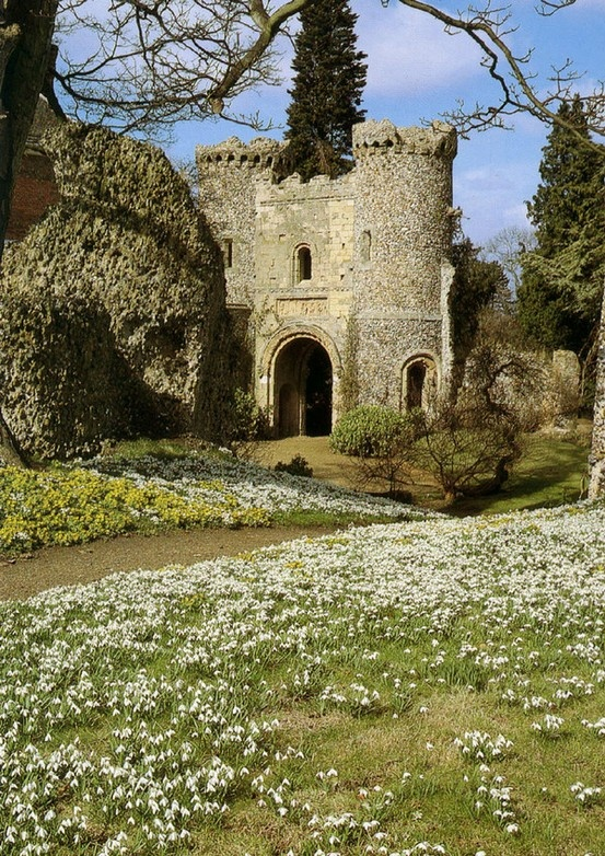 Benington Lordship Garden, Hertfordshire, England