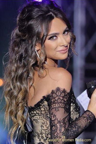maquillage libanais glamour eyeliner monvanityideal - Maquillage Libanais Mariage