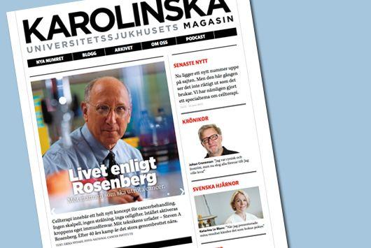 Cellterapi kan komma att bota hittills obotliga sjukdomar som ALS, Alzheimers, Parkinson, diabetes och olika cancerformer. Jag intervjuade en verklig pionjärer inom området: Steven A Rosenberg. Efter 40 års målmedveten forskning är det stora genombrottet nära.