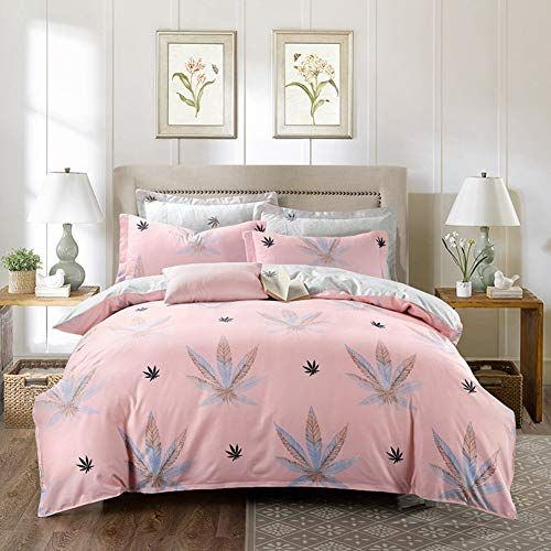 Washable Duvet Cover Set Ultra Soft Polyester Quilt Cover Sets Printing Single Double Duvet Quilt Cover Zipper E 24 Bedding Sets Bedroom Decor Cute Bed Sheets