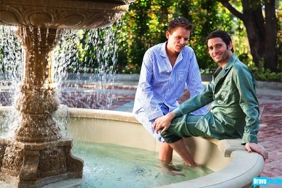 Josh Flagg hanging out with his beau Colton. In pajamas ...