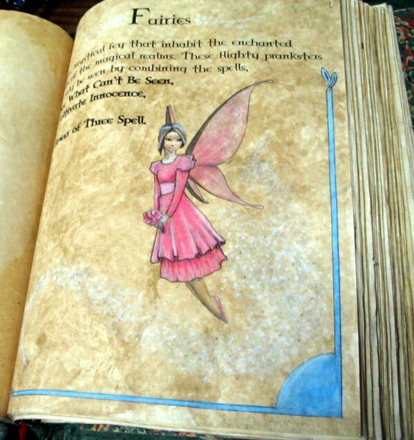 #Charmed #BookOfShadows #Prue #Piper #Phoebe #Paige #Leo #Cole #Billy #Fairies #Spell