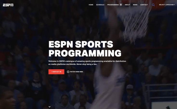 Web Design - ESPN