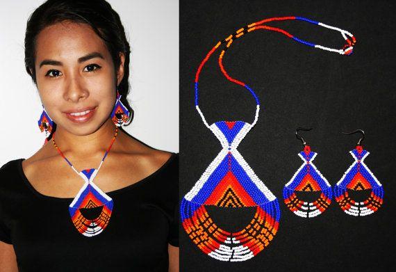 Inca joyas joyería Azteca moda Tribal por BiuluArtisanBoutique