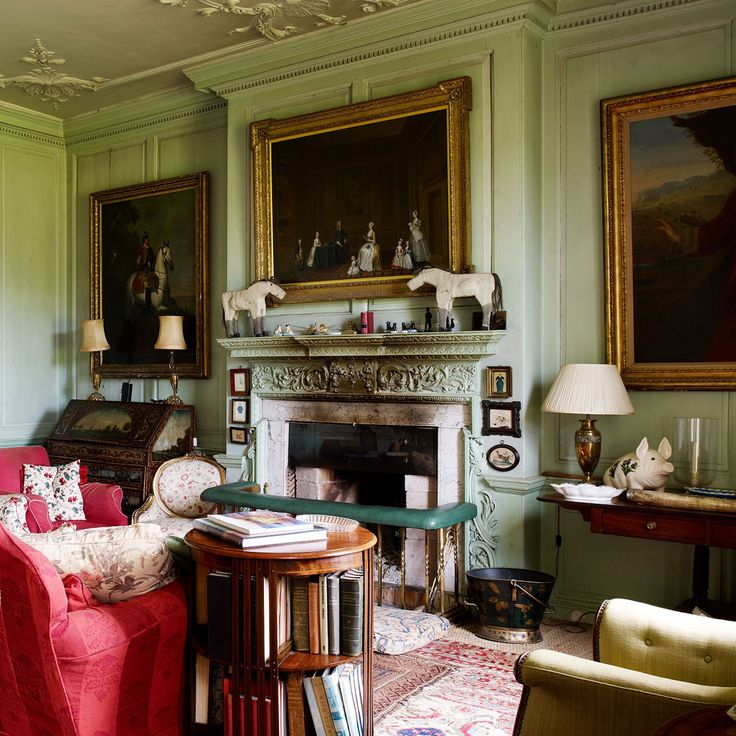 249 best traditional decor images on pinterest entry for Traditional english home