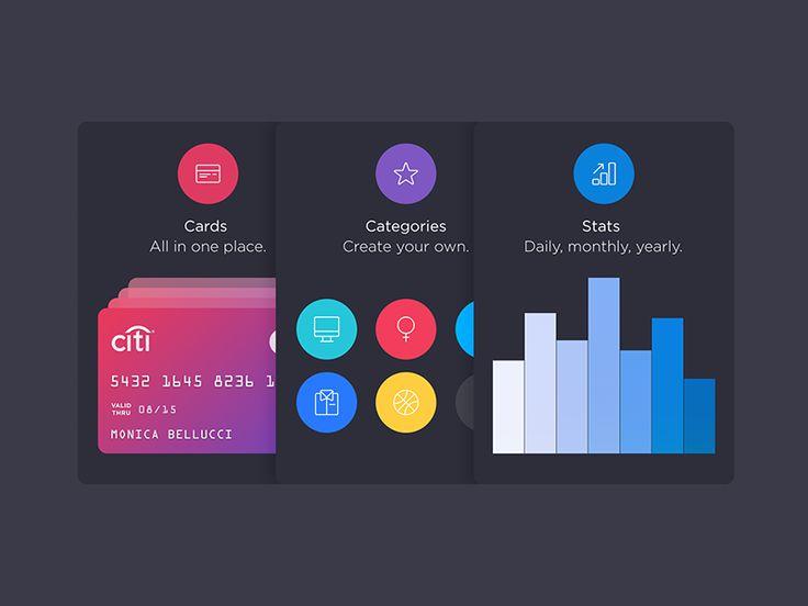 Walle Finance App [Tutorial Cards] by Alexander Zaytsev