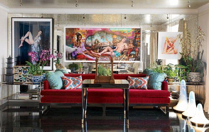 daphne guinness apartment | Daphne Guinness's NYC Apartment |