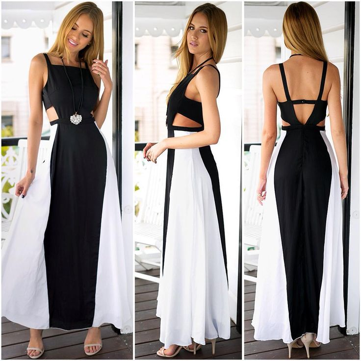 Grace any formal event with style in this cutout maxi dress! #party #chic #lookbookstore (Shop link in bio)