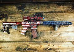#Merica #cerakoteMADness via @mad_label_retail  So much freedom. Enjoy your 4th Patriots! #merica #redwhiteandblue #4thofjuly #freedom #pewpew #gun #ar15 #556 #madlabel #kitsapcounty #bremerton #veteranowned #smallbusiness #2a #independenceday #patriots #USA #PNW