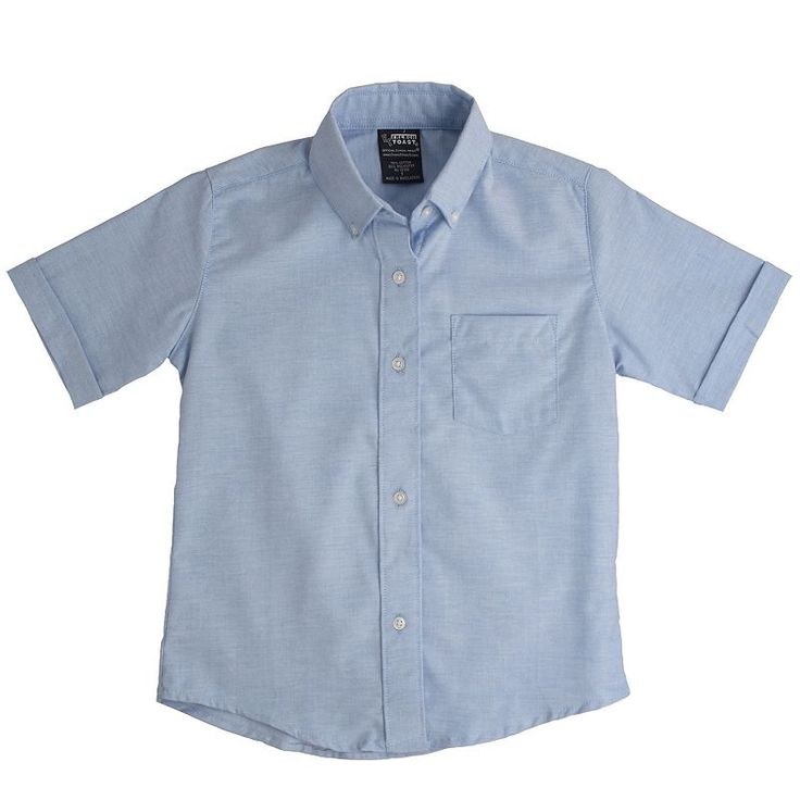 Boys 8-20 French Toast School Uniform Oxford Shirt, Boy's, Size: 20, Blue