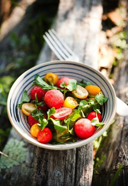 Sweet Paul: Watermelon & Tomato Salad Recipe