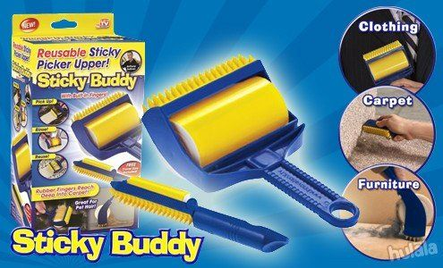 Available Worldwide!Over 200,000+ Sold - Get Yours Today! CYBER MONDAY SALE! Sticky Buddy is the best solution to remove pet hair easily: simply roll, wash a