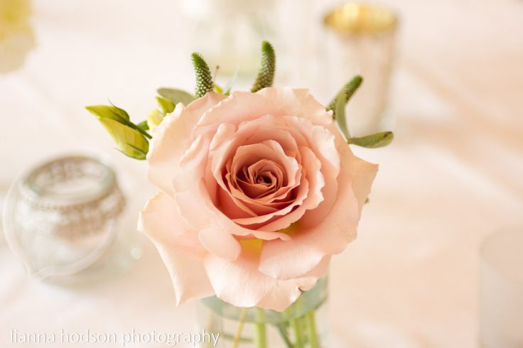 Beautiful roses used as table flowers at Helen and Andy's wedding at Ashfield House. Against the crisp cotton tablecloths they looked stunning.