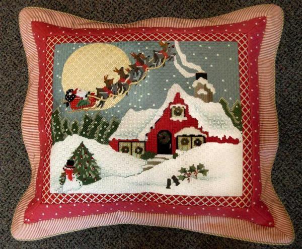 """Christmas Cottage"" - Melissa Shirley design"
