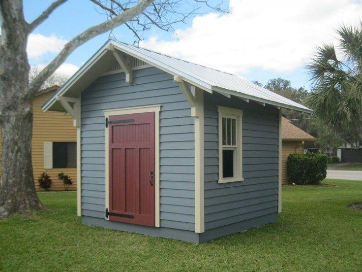 Best 25 craftsman sheds ideas on pinterest craftsman for Craftsman style storage sheds