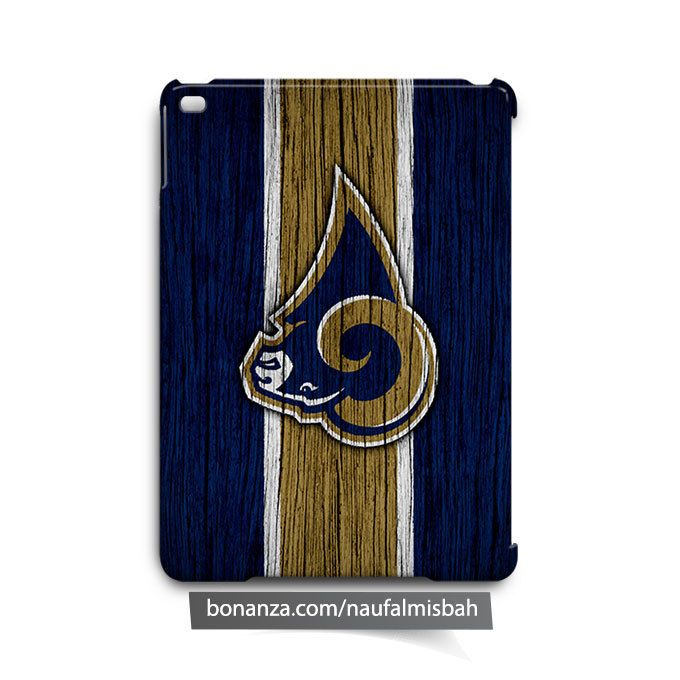 Los Angeles Rams on Wood iPad Air Mini 2 3 4 Case Cover