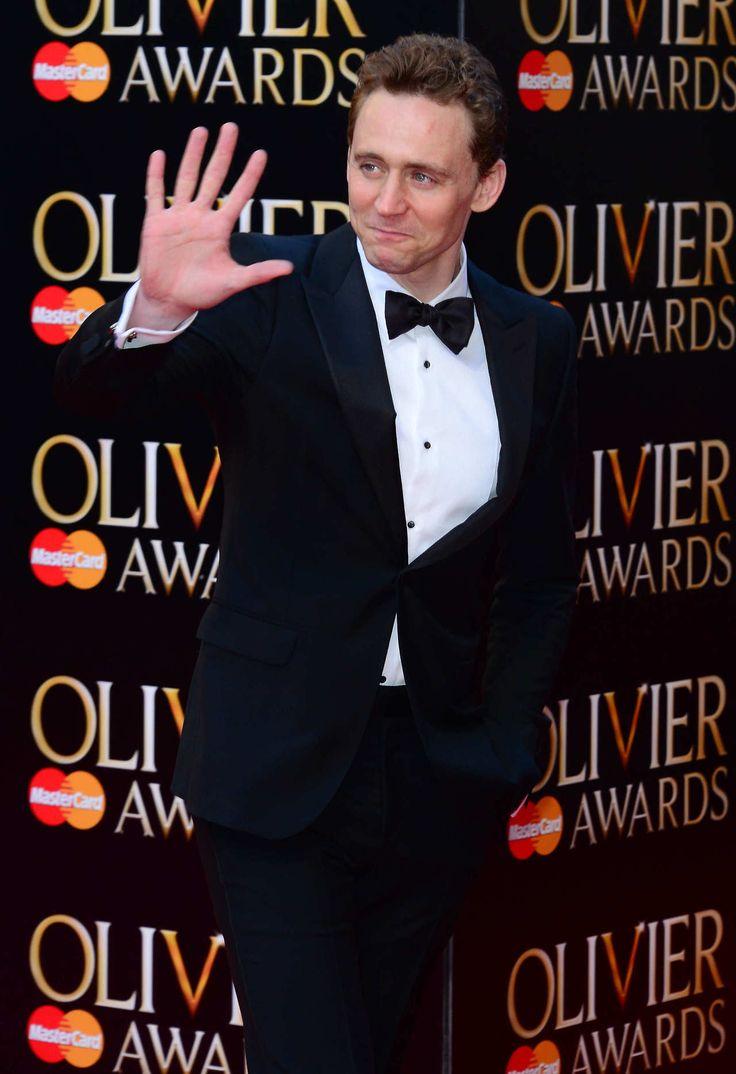 Tom Hiddleston at Olivier Awards 2014
