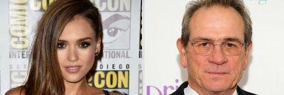 "cotibluemos: Tommy Lee Jones y Jessica Alba  en "" The Mechanic:..."