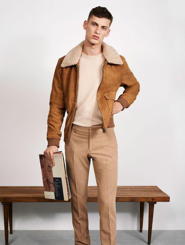 Conjunto marrón Zara Otoño Invierno 2018 Hombre f4a6f8bd843