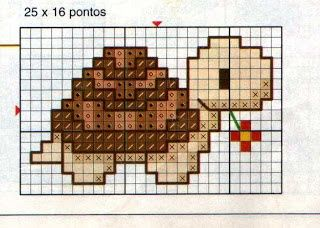 Pin by Birgit on CrossStich - max. 20/20 Count Pattern | Pinterest | Turtles, Ems and Baby Turtles