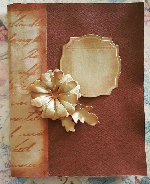 BellesCreations.gr: Vintage A5 notebook