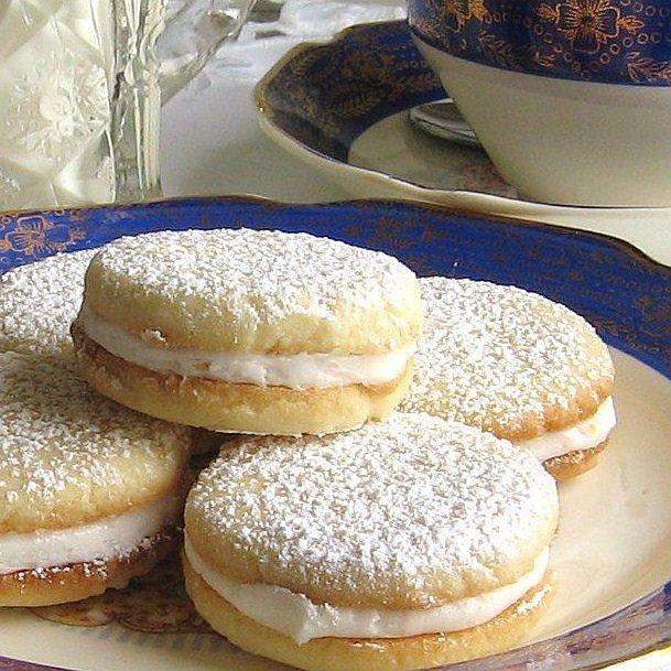 Polish Lemon Tea Cookies Recipe - Cytrynowe Ciasteczka Do Herbaty
