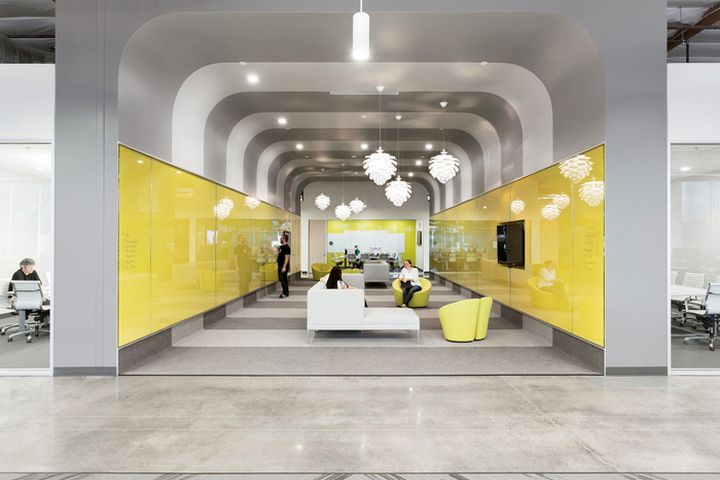 Ooyala Offices by HGA Architects and Engineers, Santa Clara – California » Retail Design Blog