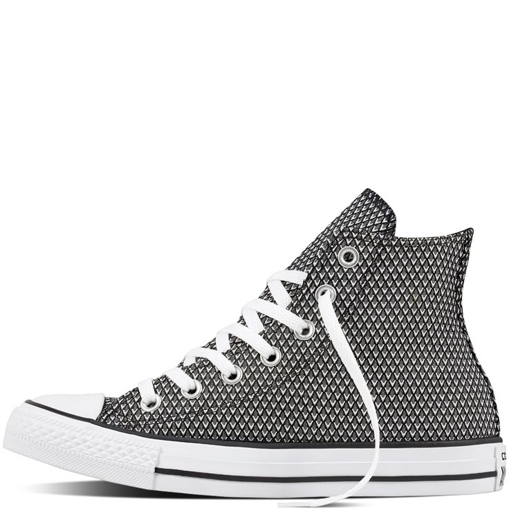 Converse Shoes Sneakers. See More. Chuck Taylor All Star Woven Blanc/Noir/ Blanc
