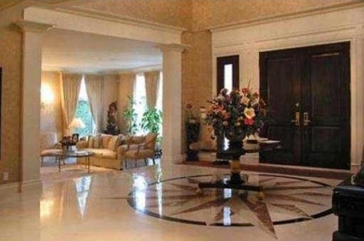 The marble foyer