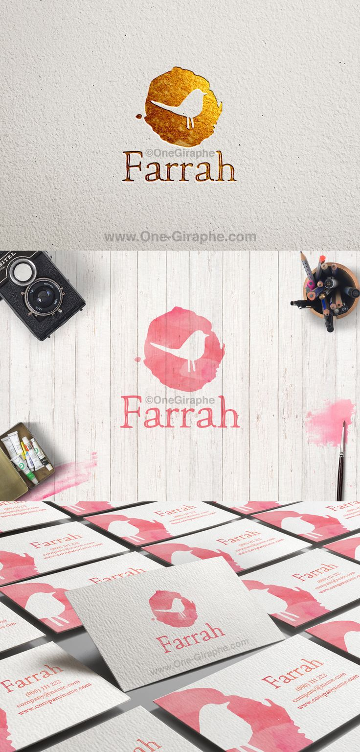 Farrah #4 for sale now: http://one-giraphe.com/prev.php?c=126 ‪#‎logo‬ ‪#‎logodesign‬ ‪#‎graphic‬ ‪#‎graphicdesign‬ ‪#‎readymade‬ ‪#‎logostore‬ ‪#‎watercolor‬ ‪#‎watercolorlogo‬ ‪#‎etsy‬ ‪#‎pinterest‬ ‪#‎instagram‬ ‪#‎behance‬ ‪#‎dribbble‬ ‪#‎logopond‬ ‪#‎affordable‬ ‪#‎bird‬ ‪#‎birds‬ ‪#‎natural‬ ‪#‎eco‬ ‪#‎bio‬ ‪#‎photography‬ ‪#‎gold‬ ‪#‎luxury‬