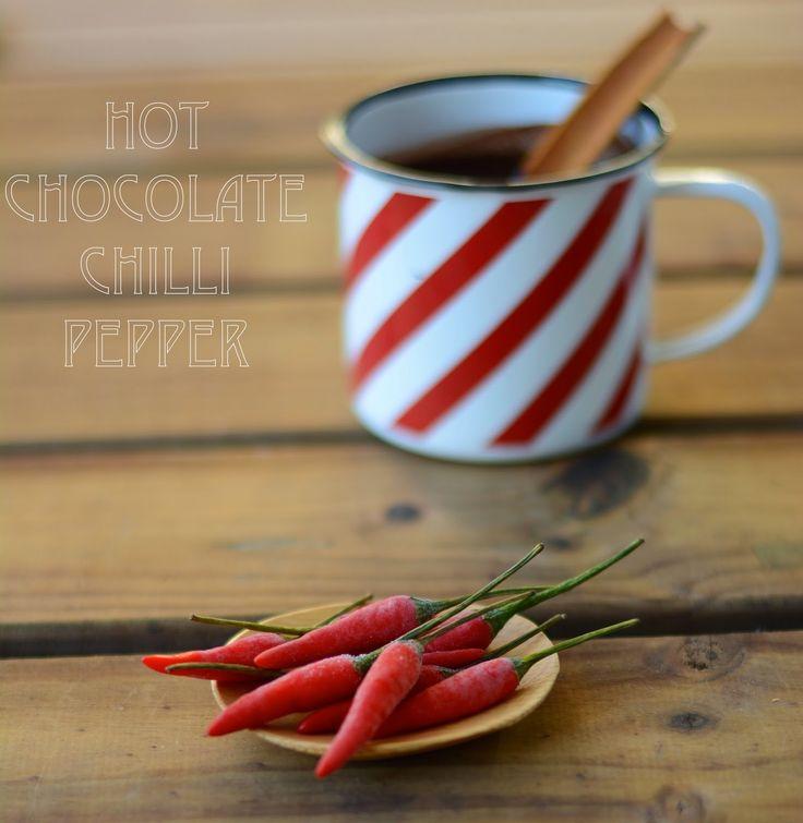 fresa & pimienta: Hot chocolate Chili Pepper