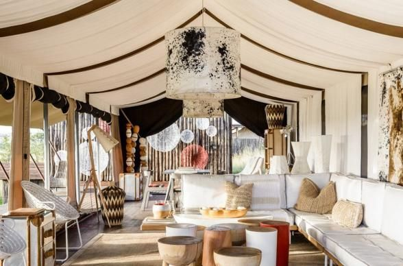 For anyone on the hunt for a safari spot that immerses you in the local scenery, check out Singita Mara River Tented Camp in Tanzania. With just six luxury camping tents on-site, you can rest assured that this experience in the African wilderness will be the finest on offer. | Photo Credit: Singita