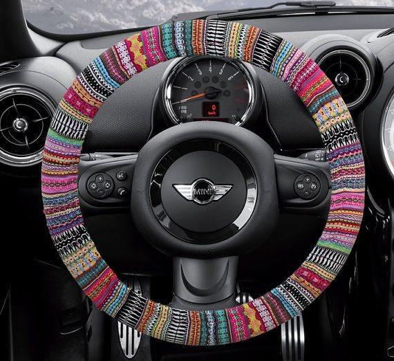 Steering wheel cover bow wheel car accessories lilly by for Automobile decoration accessories