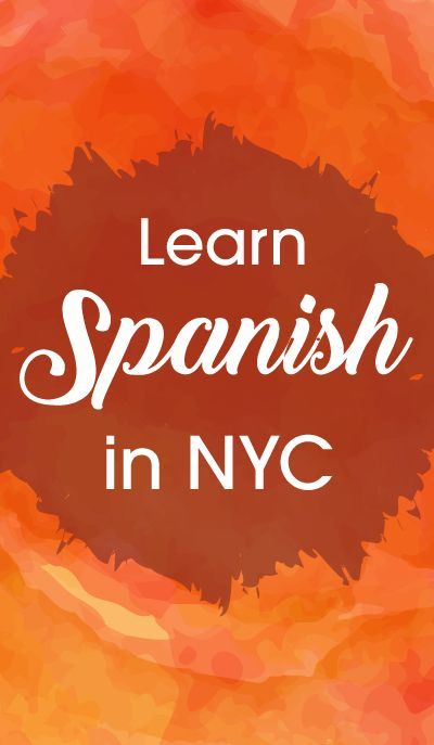 Learn to speak Spanish.