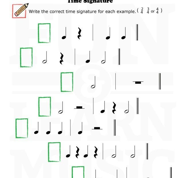 Do you know your time signature?